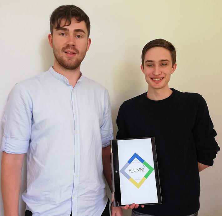 Dylan et William - Projet alumnis CPGE Pôle Sup de La Salle
